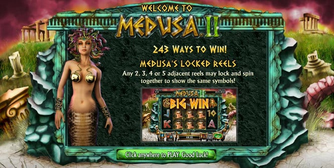Medusa 2 - бонус тур Medusa's Locked Reels