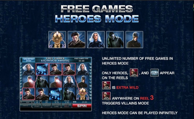игра X-men - Heroes Mode Free Games