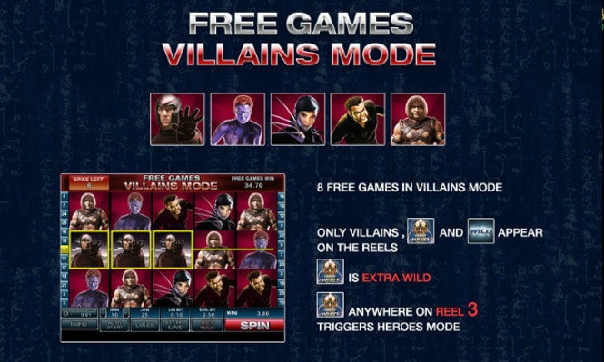 игра X-men - Villains Mode Free Games